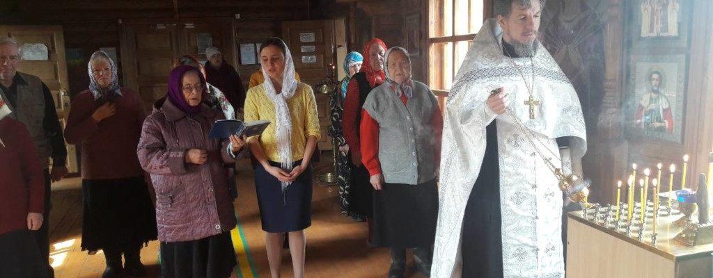 Заупокойная лития по погибшим в Кемерове